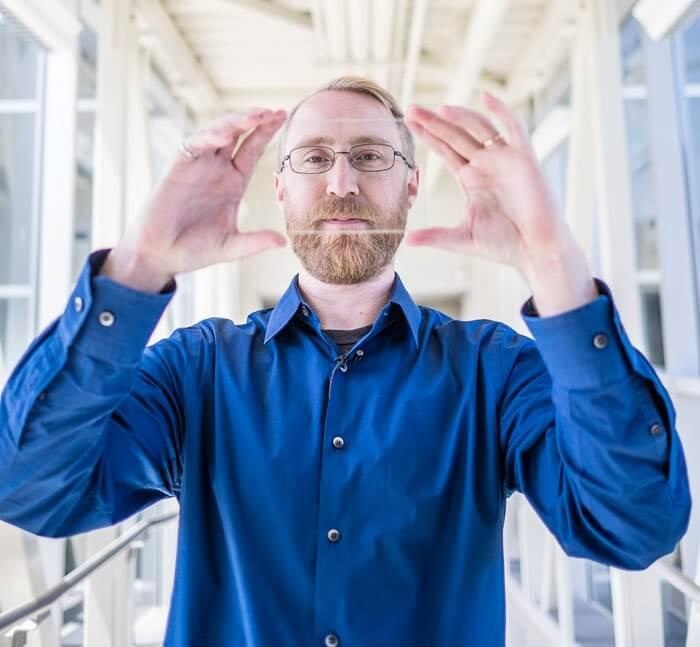 سلول های خورشیدی شفاف