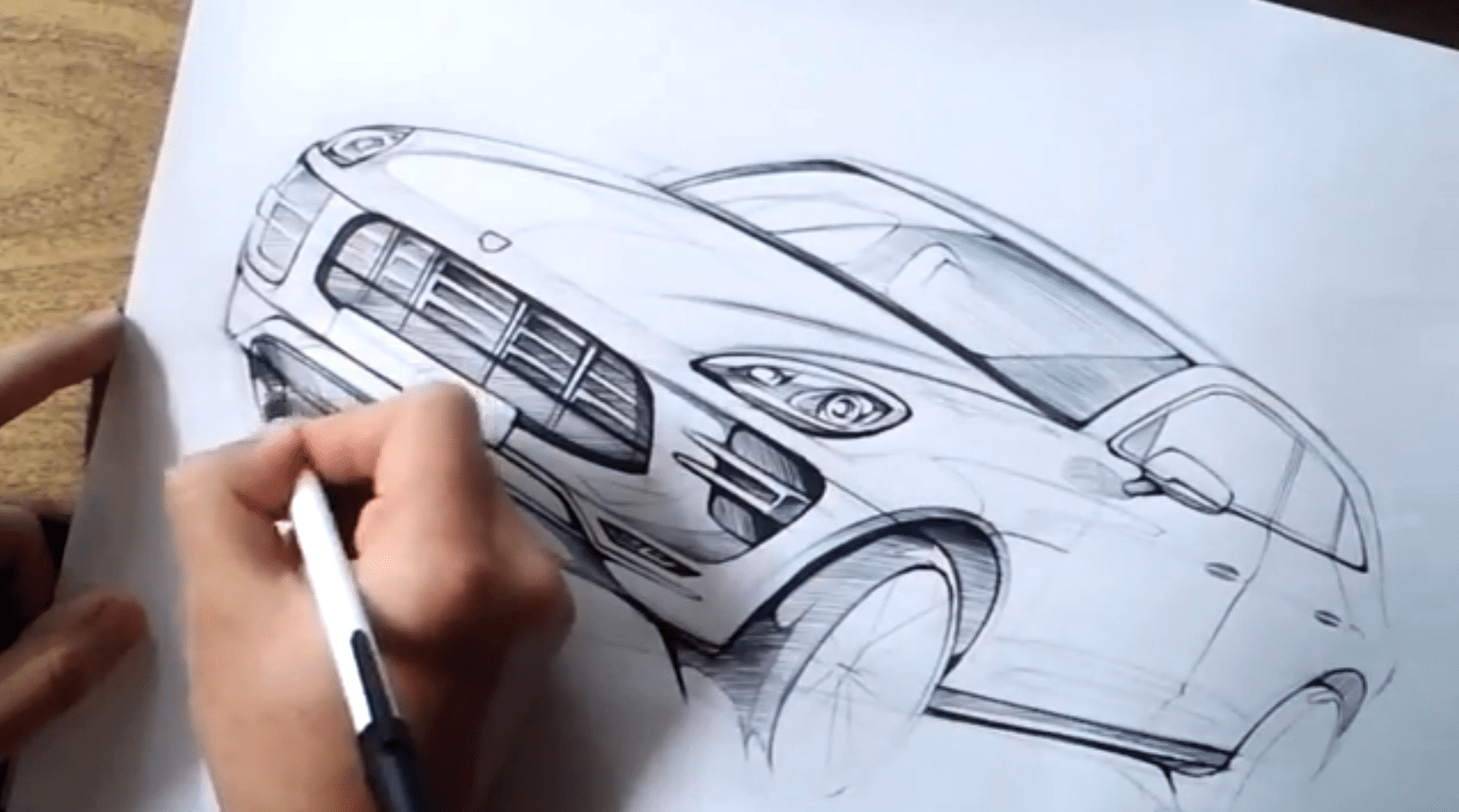 put pen to paper and lean how to draw a porsche macan video 78616 1