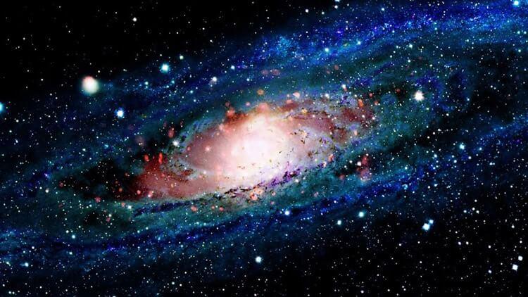 تصویری از کهکشان