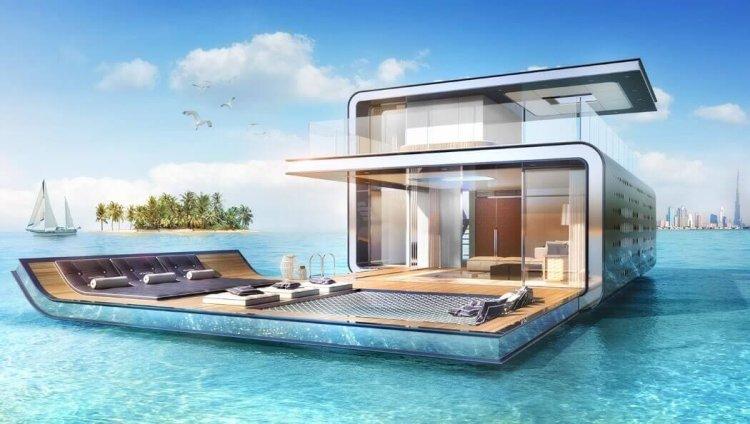 خانه های ضد طوفان با سازه های هیدرولیکی و خورشیدی برای مقابله با حوادث طبیعی