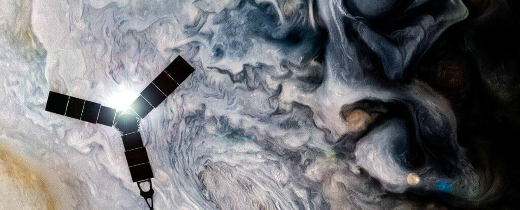 روکیدا - تصاویر خیرهکننده کاوشگر یک میلیارد دلاری ناسا از سیاره مشتری - آژانس فضایی اروپا, تلسکوپ فضایی, فضا, ناسا