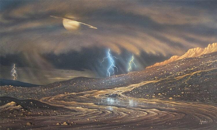 طوفان در تیتان، مانعی برای عملیات زیردریایی فضایی ناسا