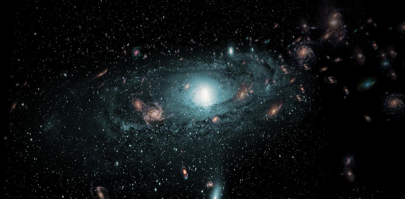 خواهر کهکشان راه شیری، میلیاردها سال قبل توسط آندرومدا بلعیده شد