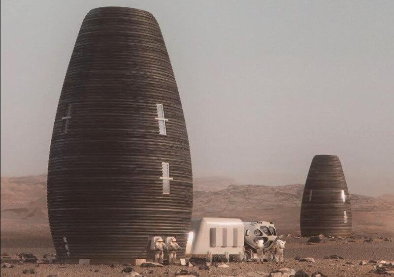 زیستگاه مریخ