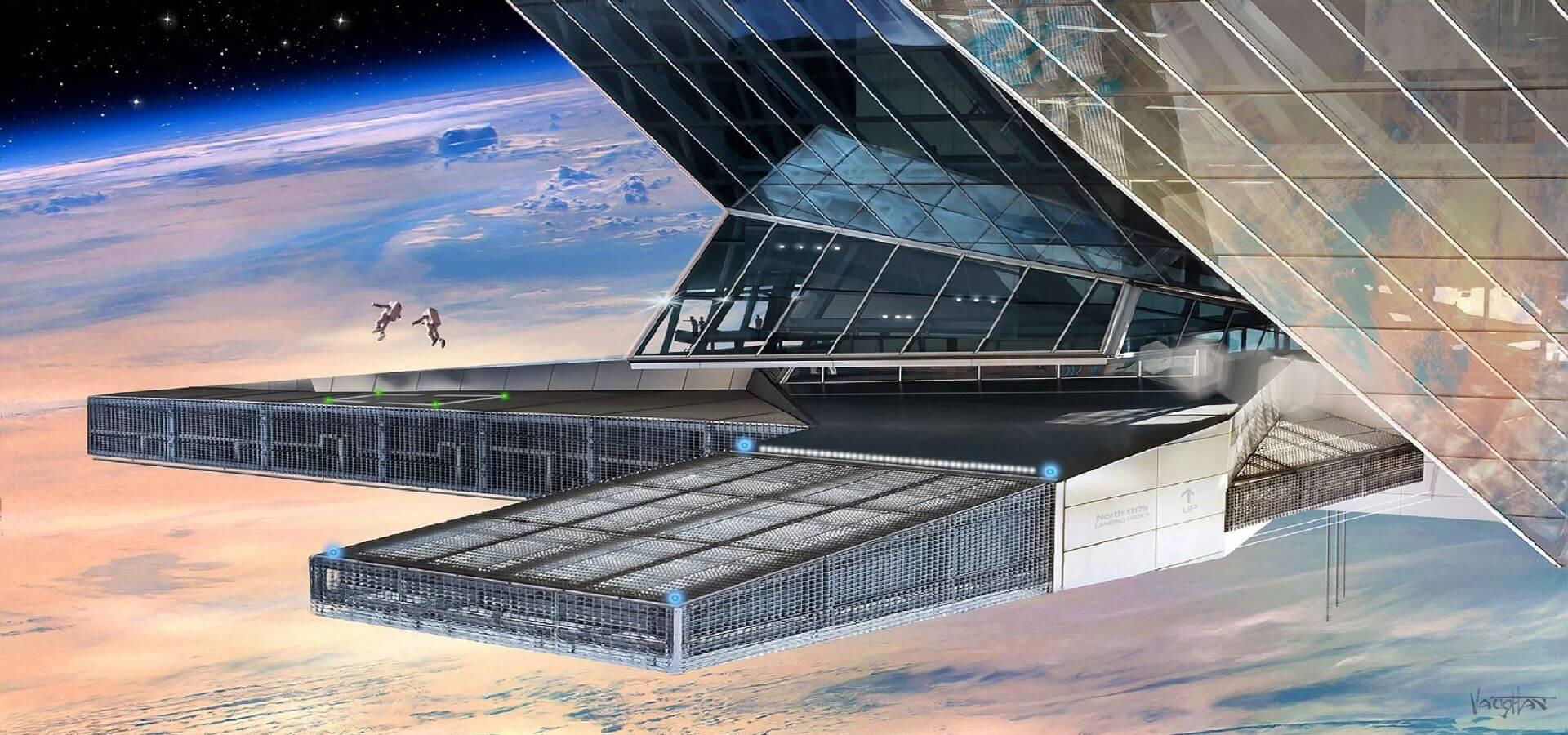 آسگاردیا کشوری مستقل در فضا خواهد بود.