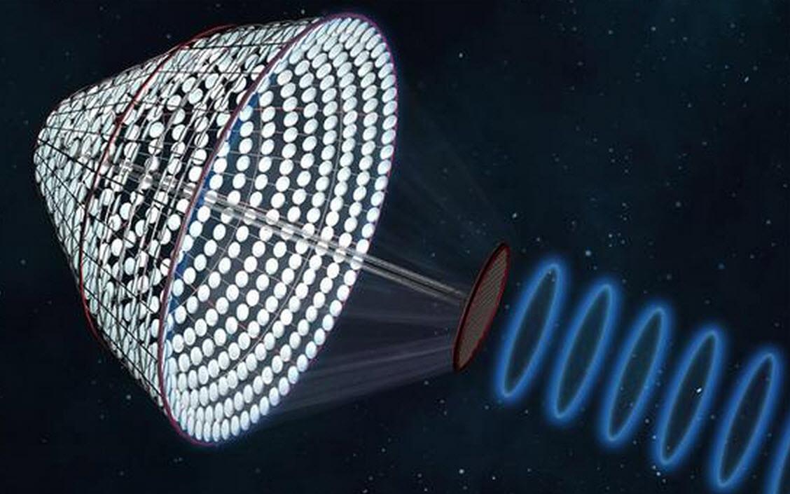 انتقال انرژی خورشیدی از فضا