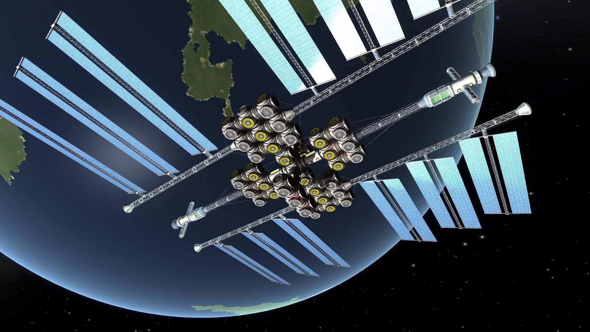 مزرعه خورشیدی در فضا