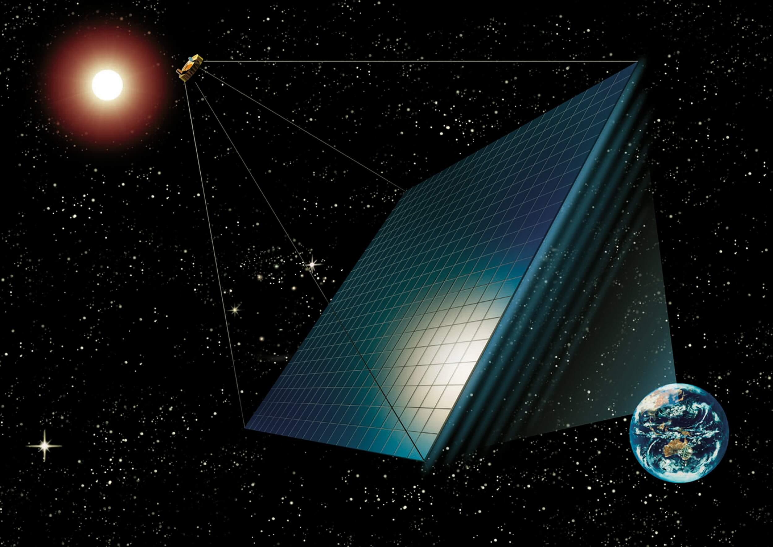 مزرعه خورشیدی فضایی