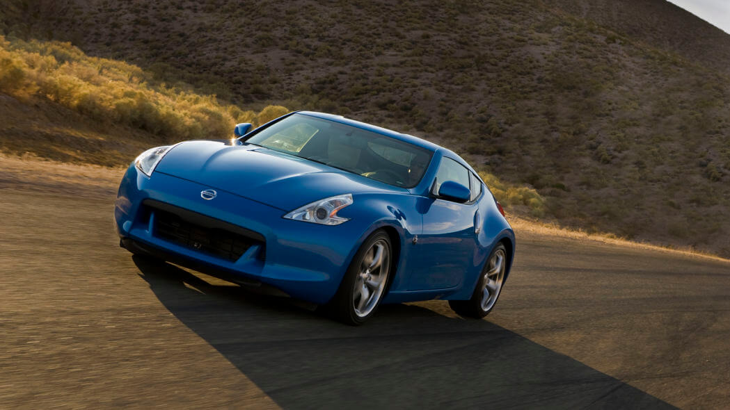 2009 nissan 370z coupe 1