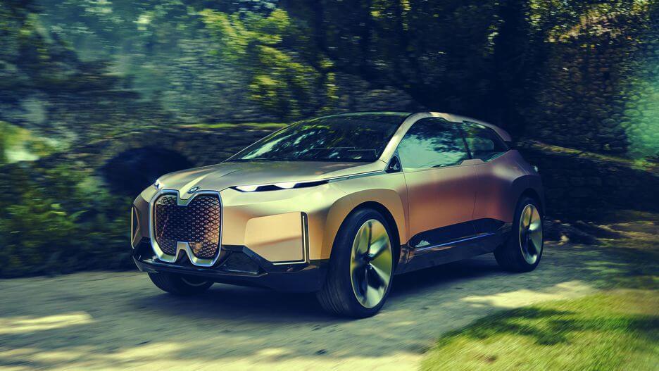 BMW تست درایو مجازی خودروی مفهومی Vision iNext رونمایی کرد
