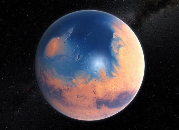 حیات بر روی مریخ