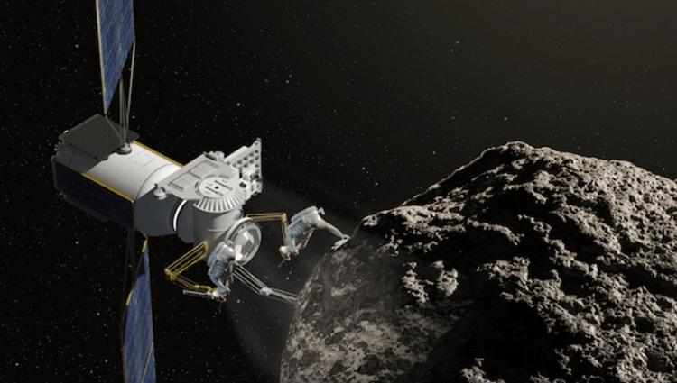 معدن کاری سیارک فضایی