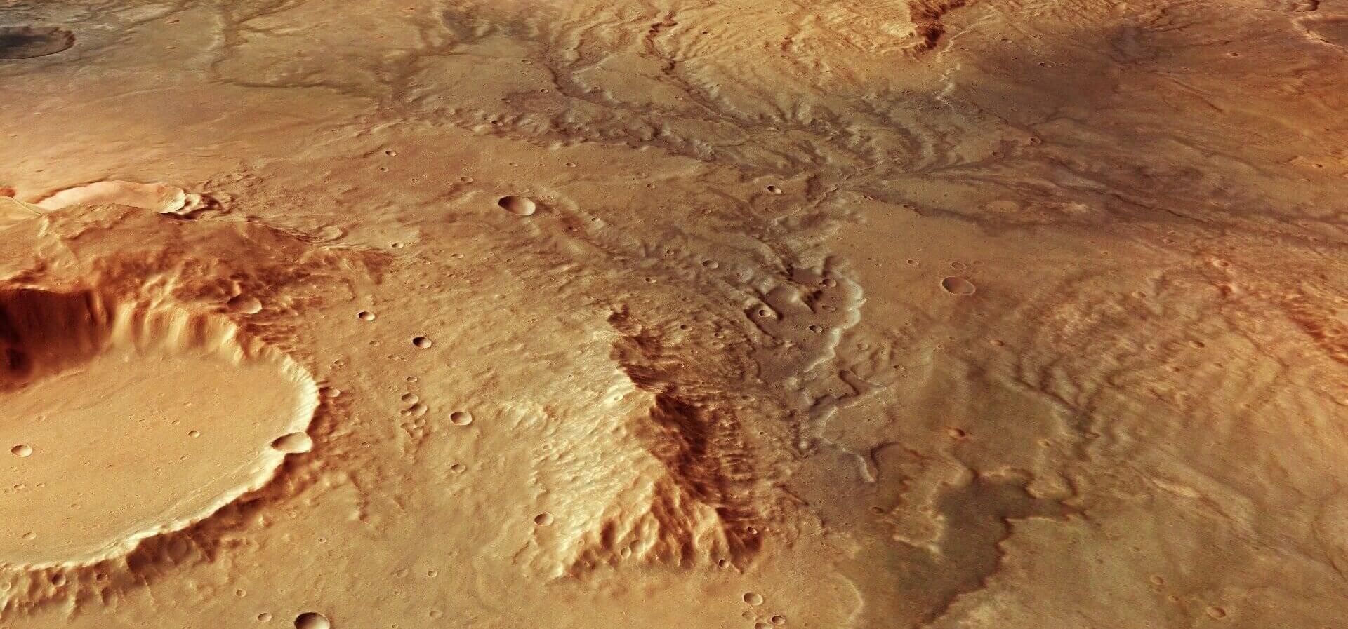 وجود آب مایع در سطح مریخ