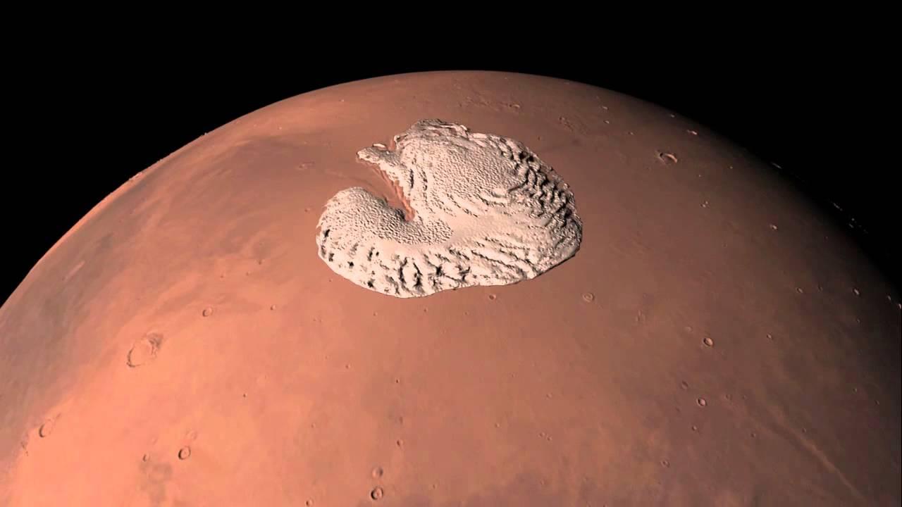 کلاهک یخی مریخ