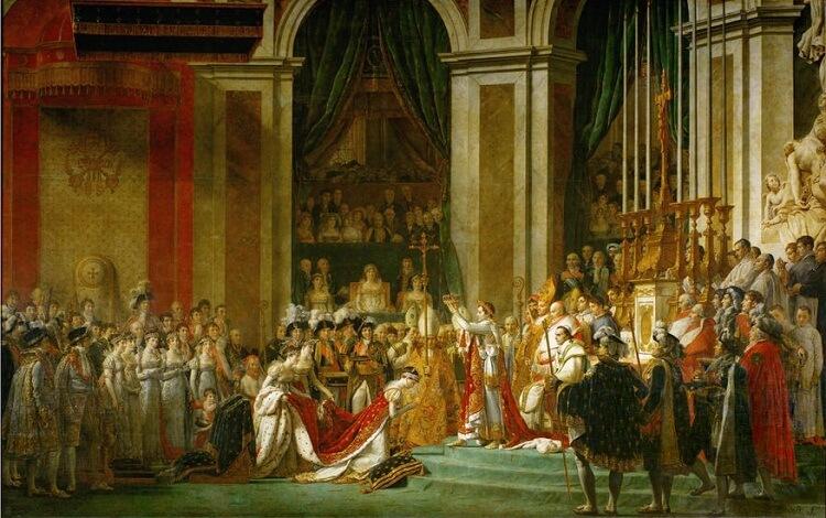 تاج گذاری ناپلئون