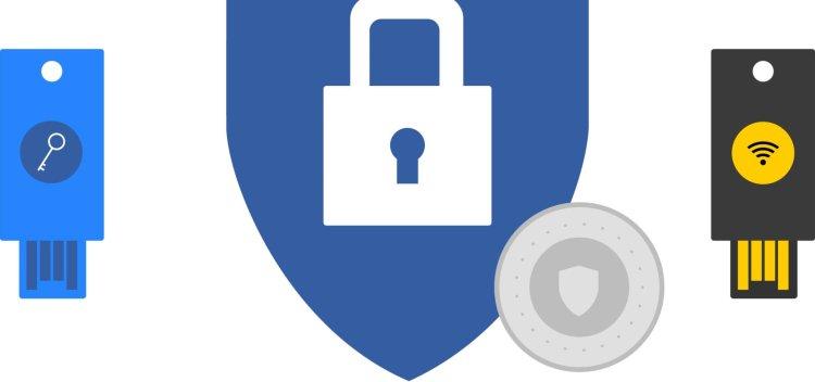 تایید دو مرحله کلید امنیتی گوگل