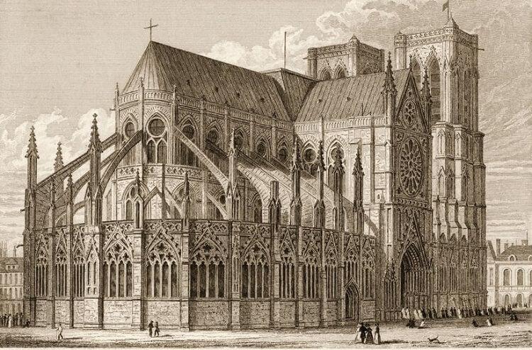 حکاکی کلیسای نوتردام