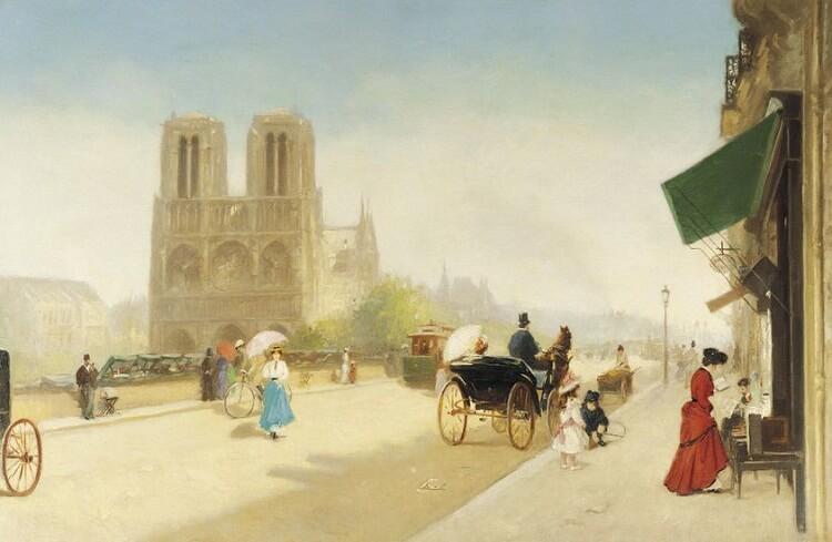 نقاشی از کلیسا
