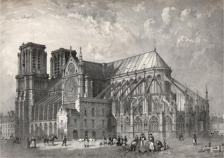 نوتردام اولین تصاویر