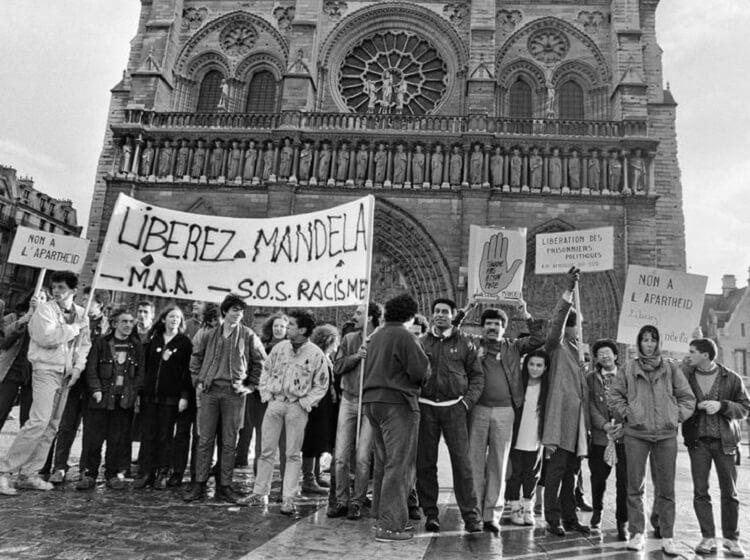 گردهمایی ضد نژادپرستی