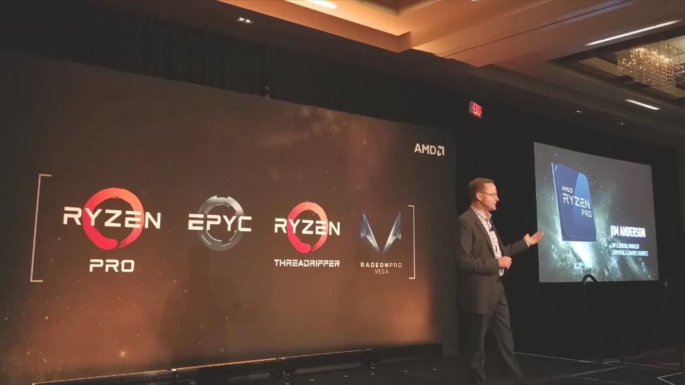 روکیدا   AMD از Ryzen Pro جدید برای لپتاپهای حرفهای رونمایی کرد   اینتل, فناوری