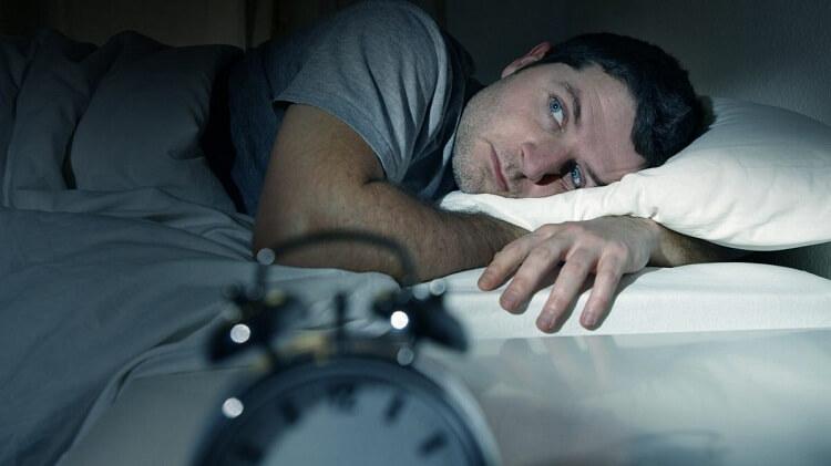 افسردگی بی خوابی شبانه