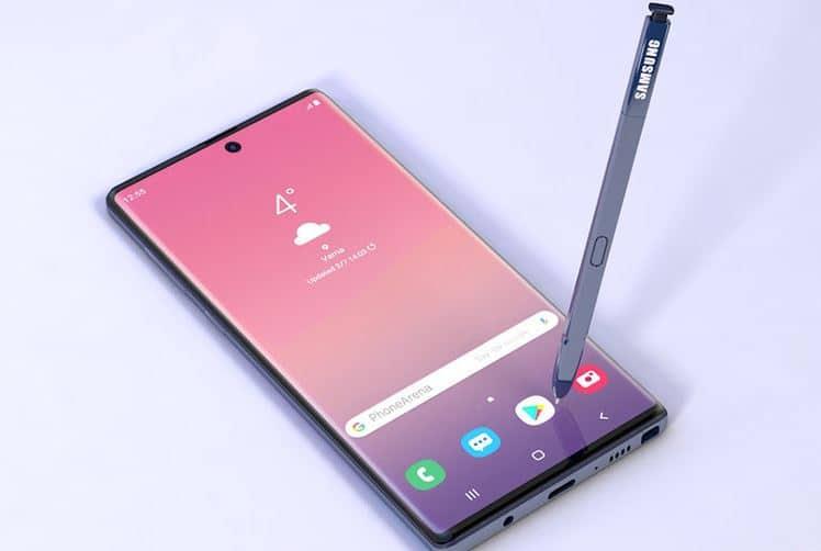 تصویر جدید گوشی Galaxy Note 10 Pro وجود یک ویژگی مهم را تایید میکند