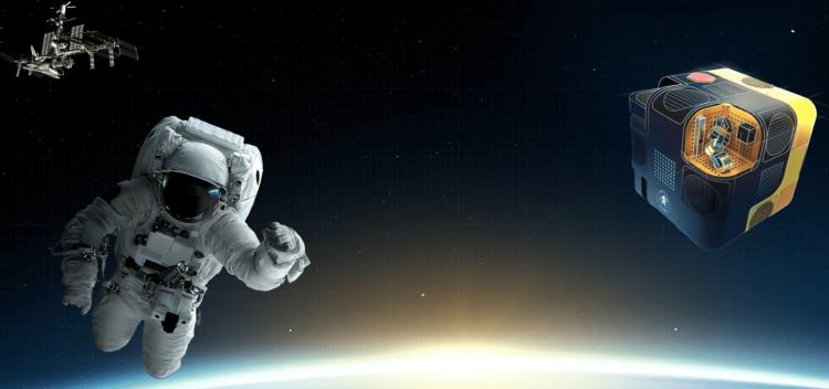 ربات فضایی استروبی ناسا