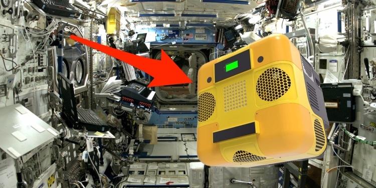 ربات فضایی هانی