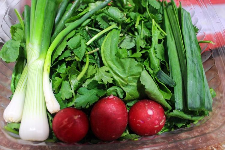 سبزی خوشمزه