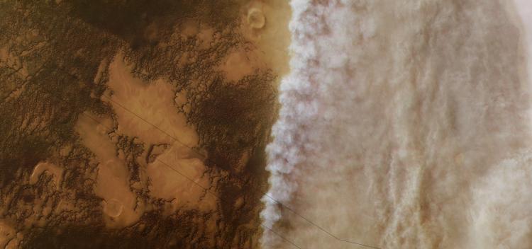 طوفان شن علت خشک شدن آب مریخ