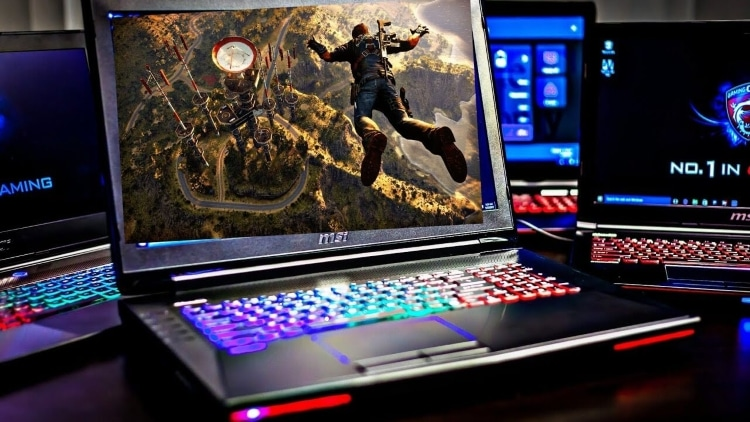 لپتاپ بازیهای ویدیویی