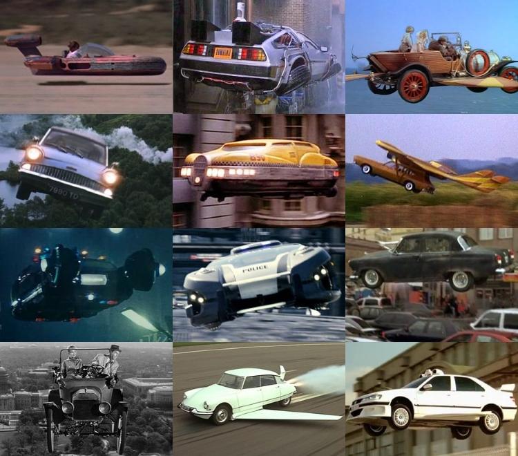 ماشین های پرنده فیلم