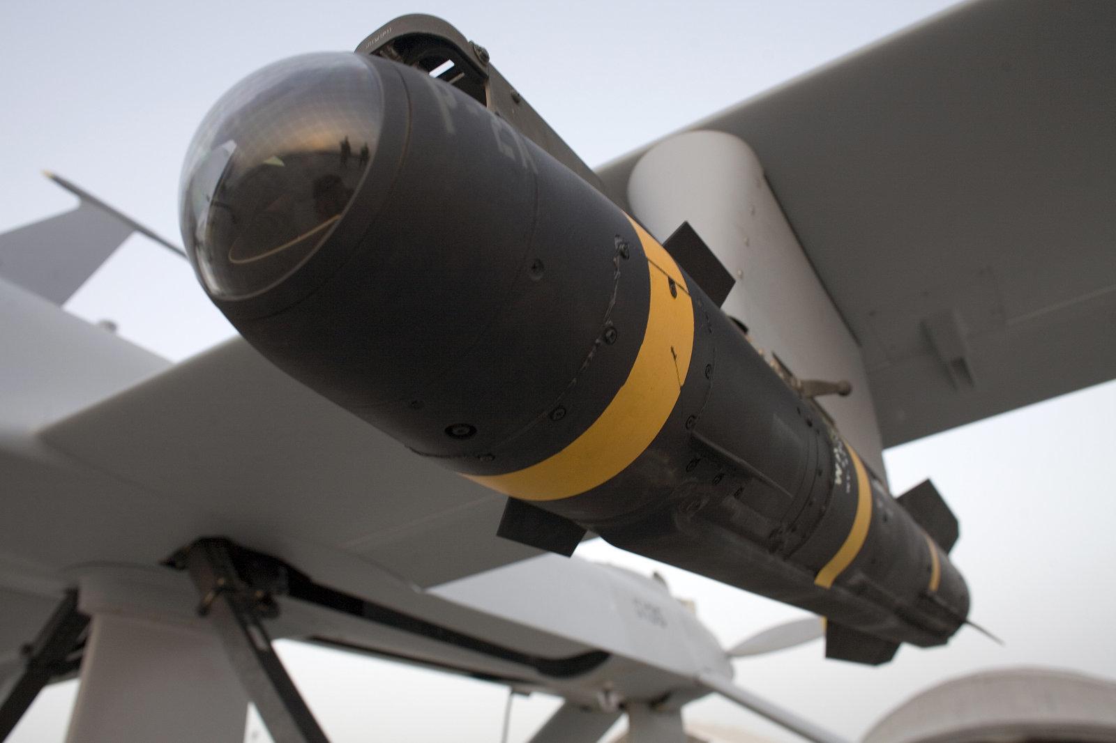 """موشک Hellfire معروف به """"نینجا بمب"""""""