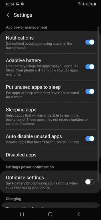 gsmarena 026 - بررسی کامل و تخصصی گوشی سامسونگ Galaxy A50 - گوشی های هوشمند, نقد و بررسی گوشی موبایل, نقد, سامسونگ گلکسی A, سامسونگ, اندروید