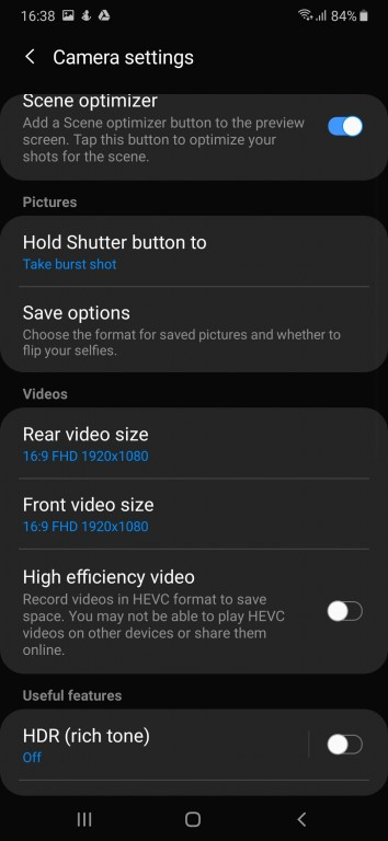 gsmarena 045 - بررسی کامل و تخصصی گوشی سامسونگ Galaxy A50 - گوشی های هوشمند, نقد و بررسی گوشی موبایل, نقد, سامسونگ گلکسی A, سامسونگ, اندروید