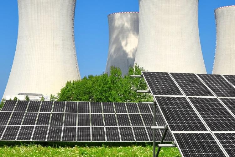 انرژی خورشیدی و انرژی هسته ای