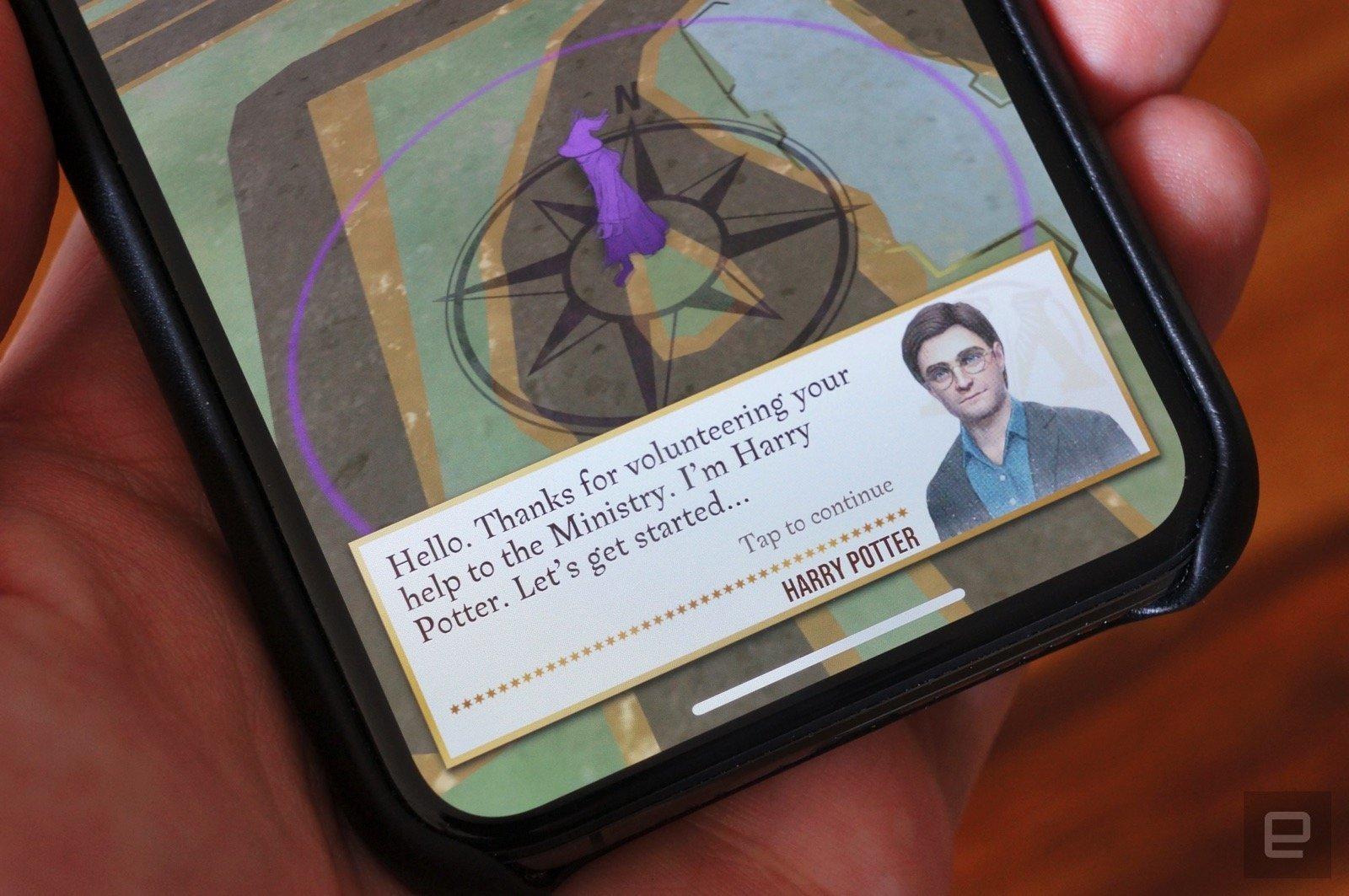 بازی Harry Potter: Wizards Unite به 25 کشور جدید میآید
