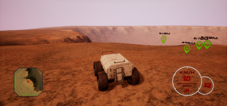 شبیه سازی آپرتیونیتی کاوشگر مریخ نورد ناسا