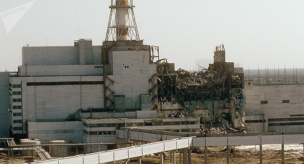 تخریم و انفجار راکتور هسته ای چرنوبیل