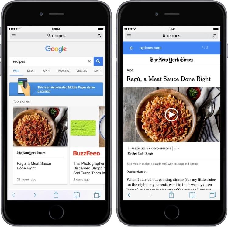 تفاوت صفحات پرشتاب موبایل و معمولی