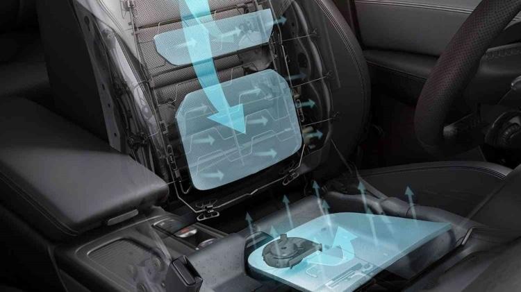 سرد کن صندلی ماشین