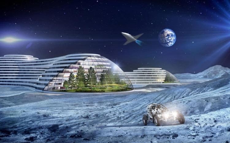 سکونت روی ماه در آینده