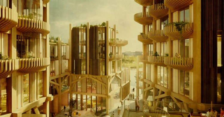 طرح شهر هوشمند سایدواک لبز