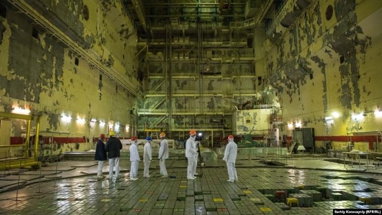 مرکز راکتور هسته ای