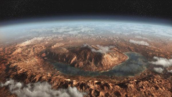 متان در مریخ