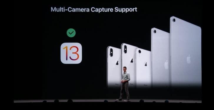 پشتیبانی از چند دوربین
