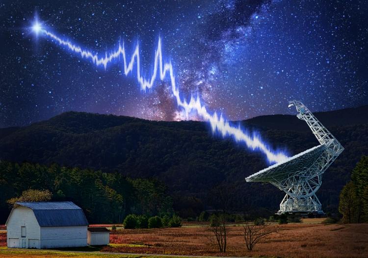 انفجار رادیویی
