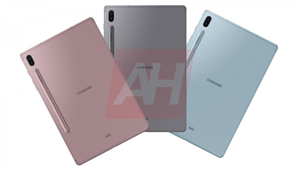تصاویر رسمی تبلت Galaxy Tab S6 سامسونگ منتشر شد