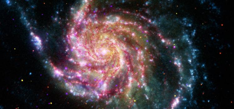 تصویر تلسکوپ اشعه ایکس